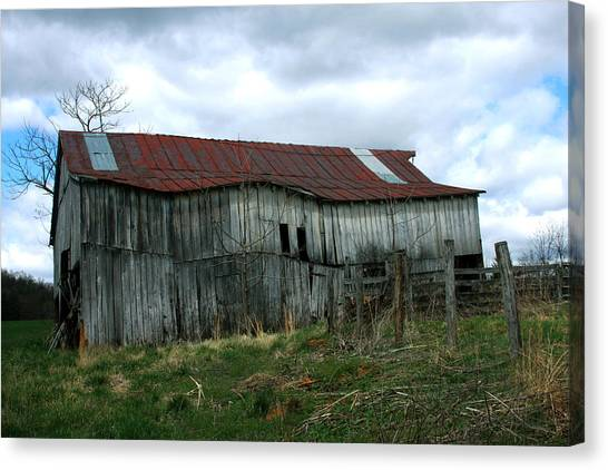 Old Barn Xiii Canvas Print