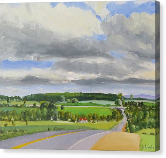 Old Barrie Road Canvas Print