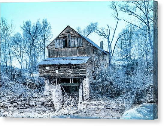 Old Blackiston Mill Canvas Print