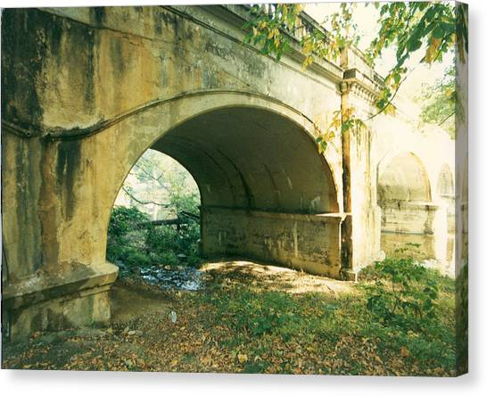 Old Broom Street Bridge Canvas Print