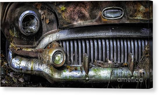 Old Buick Front End Canvas Print
