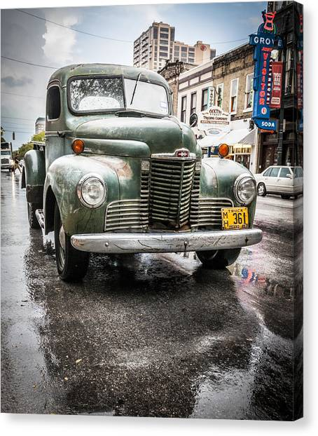 Old But Rolling Canvas Print