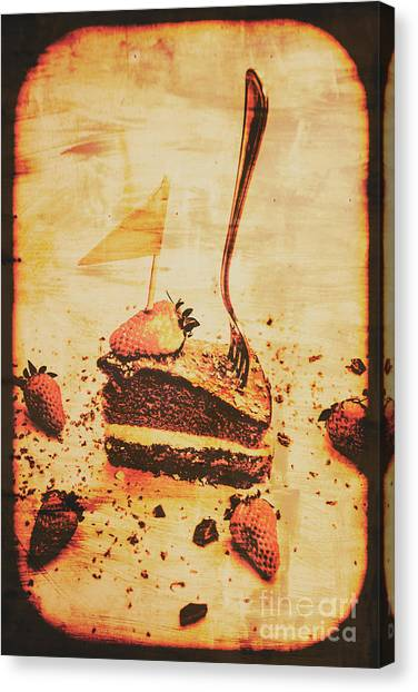 Bakeries Canvas Print - Old Cake Break by Jorgo Photography - Wall Art Gallery
