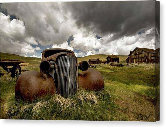 Old  Car Bodie State Park Canvas Print
