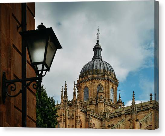 Old Cathedral, Salamanca, Spain  Canvas Print