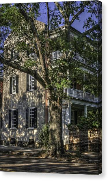 Old Charleston V Canvas Print