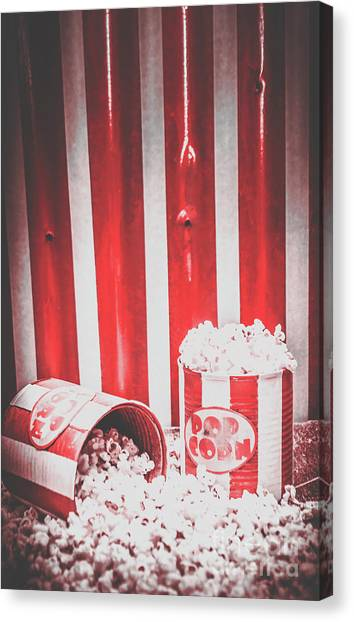 Old Home Canvas Print - Old Cinema Pop Corn by Jorgo Photography - Wall Art Gallery