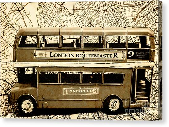 Doubles Canvas Print - Old City Bus Tour by Jorgo Photography - Wall Art Gallery