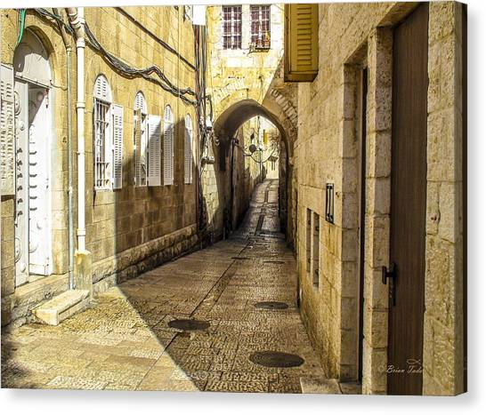 Shabbat Day Of Rest Jerusalem Israel Canvas Print
