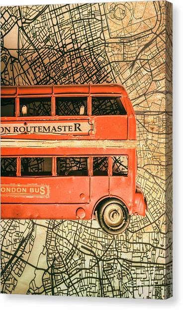 Travel Destinations Canvas Print - Old City Transit by Jorgo Photography - Wall Art Gallery