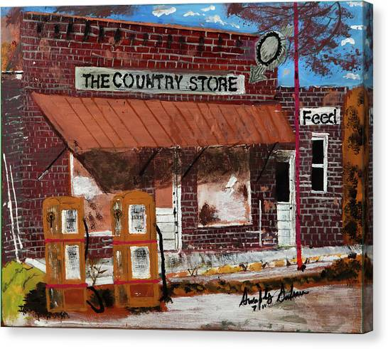 Old Country Store Canvas Print