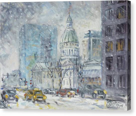 Canvas Print - Old Courthouse From N 4th St. St.louis by Irek Szelag