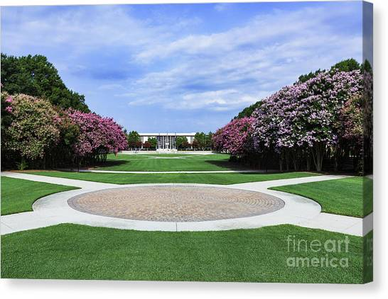 Conference Usa Canvas Print - Old Dominion University by John Greim