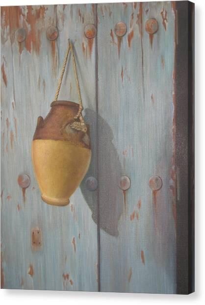 'old Door' Canvas Print by Marina Harris