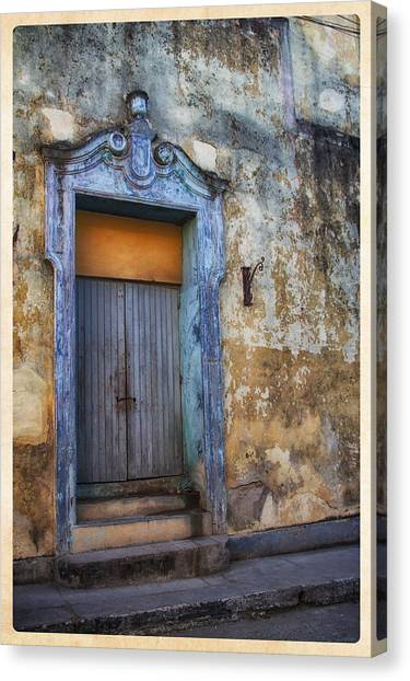Old Door Canvas Print