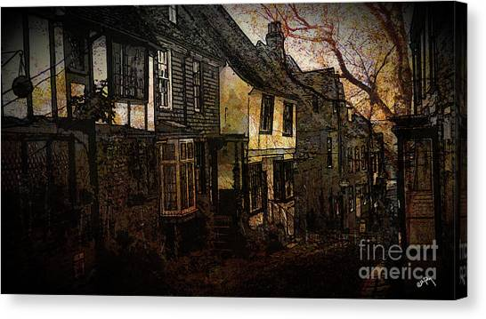 Lead Character Canvas Print - Old England by Callan Percy