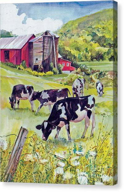 Old Farm Canvas Print