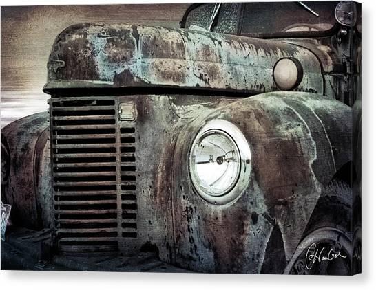 Old Farm Truck IIi Canvas Print by Christine Hauber