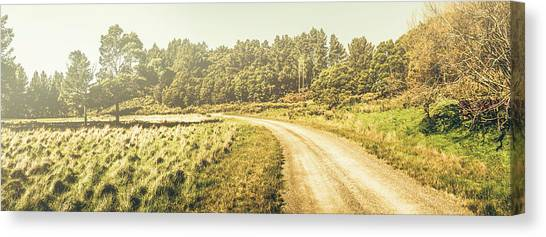 Dirt Road Canvas Print - Old-fashioned Country Lane by Jorgo Photography - Wall Art Gallery