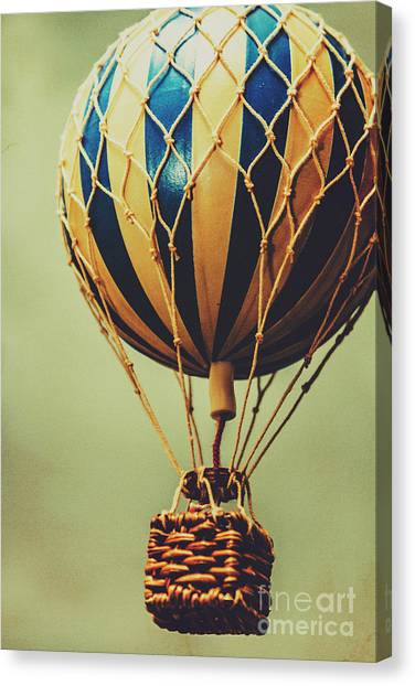 Hot Air Balloons Canvas Print - Old-fashioned Exploration by Jorgo Photography - Wall Art Gallery