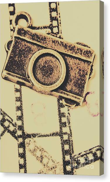 Vintage Camera Canvas Print - Old Film Camera by Jorgo Photography - Wall Art Gallery