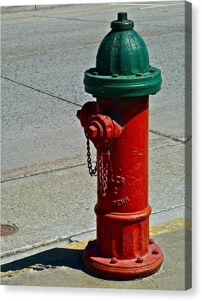 Old Fire Hydrant Canvas Print