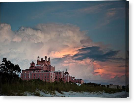 Old Florida Hotel Canvas Print by Patrick  Flynn