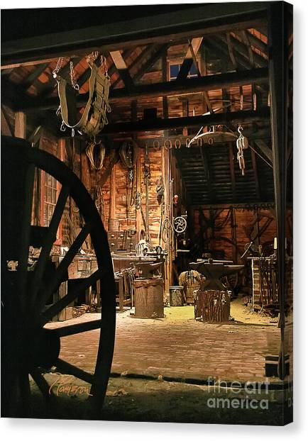 Old Forge Canvas Print