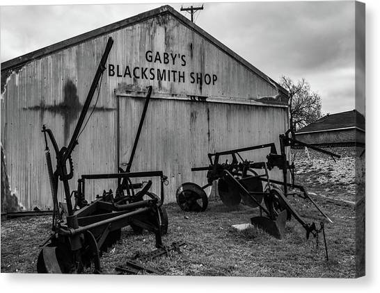 Old Frisco Blacksmith Shop Canvas Print