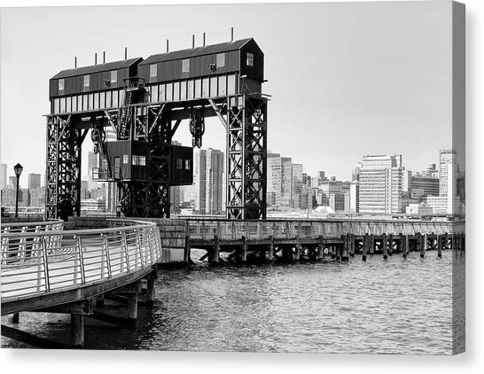 Old Gantry Canvas Print