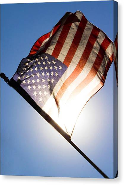 Old Glory Canvas Print