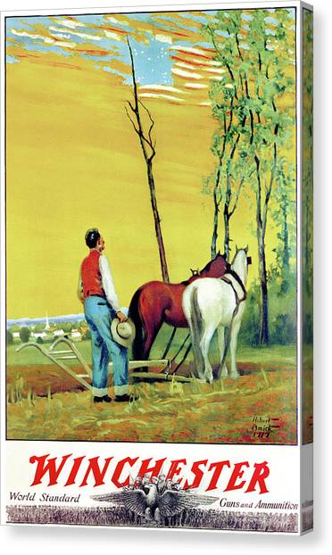 Old Glory Canvas Print