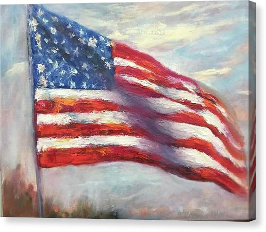 Old Glory Vi Canvas Print
