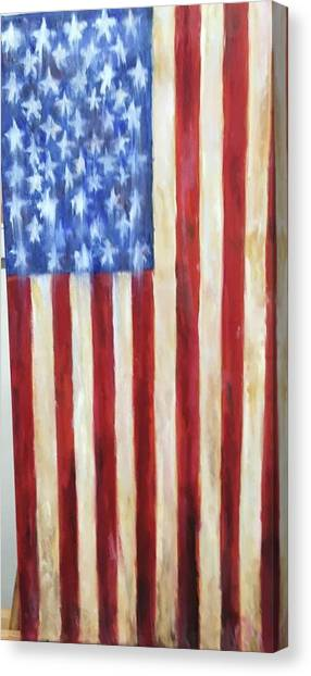 Old Glory Vii Canvas Print