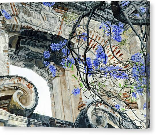 Old Growth Wisteria Canvas Print
