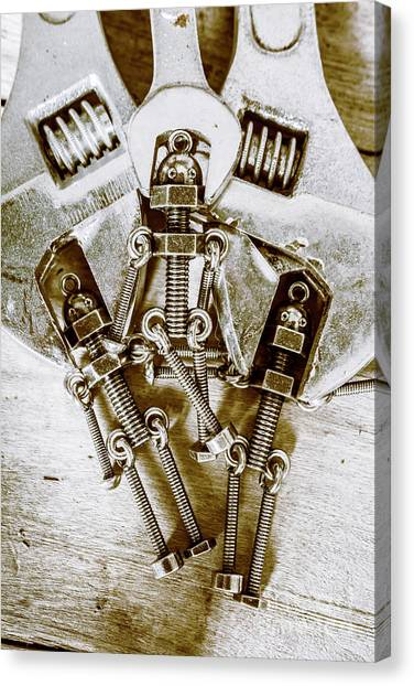 Droid Canvas Print - Old Hardware Upgrade by Jorgo Photography - Wall Art Gallery