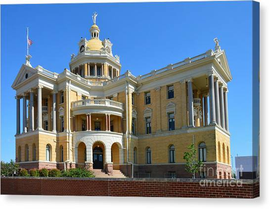Old Harrison County Courthouse Canvas Print