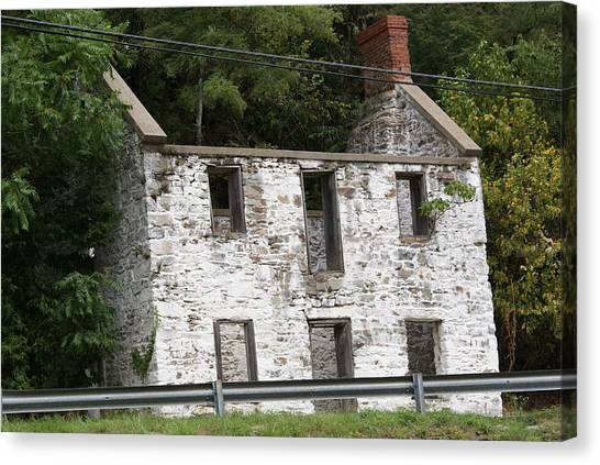 Old House Canvas Print by Heather Green