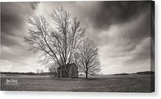 Old House Panorama Canvas Print