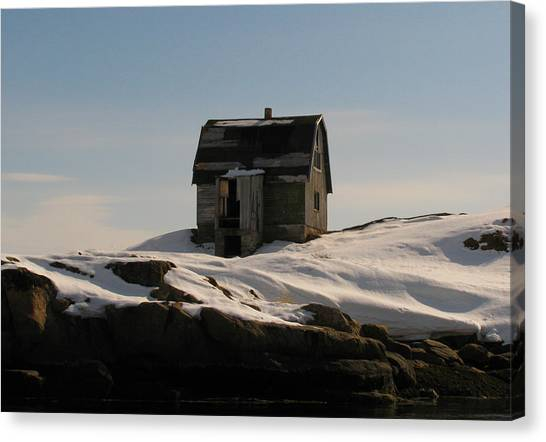 Old House Canvas Print by Sidsel Genee