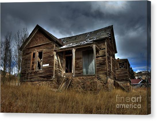 Old And Forgotten Canvas Print