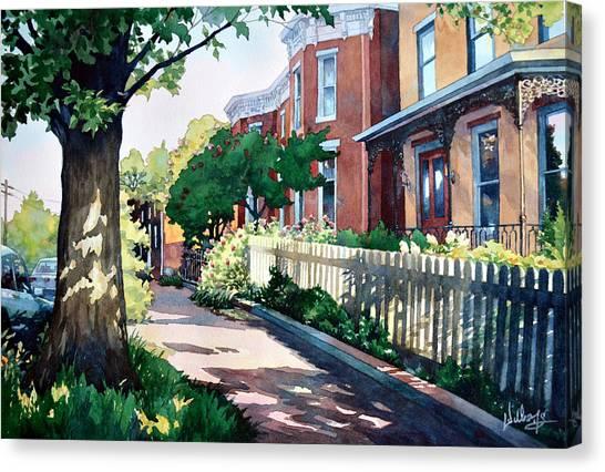 Old Iron Porch Canvas Print