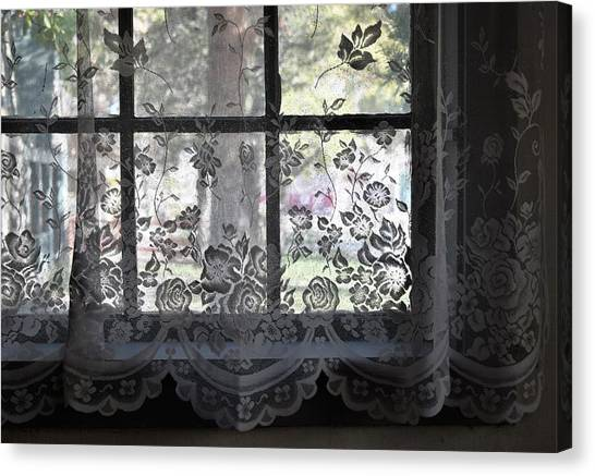 Old Lace And Old Times Canvas Print
