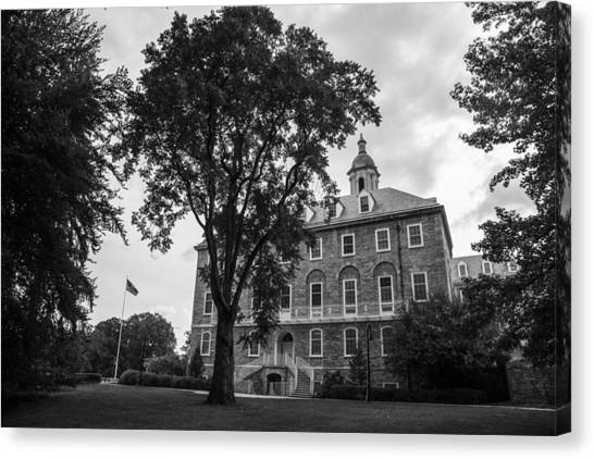 9c03677391eb2 Penn State University Canvas Print - Old Main Penn State by John McGraw