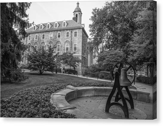 Penn State University Canvas Print - Old Main Penn State University  by John McGraw