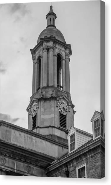 Penn State University Canvas Print - Old Main Tower Penn State by John McGraw