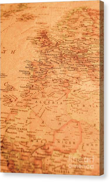 Old World Canvas Print - Old Maritime Map by Jorgo Photography - Wall Art Gallery