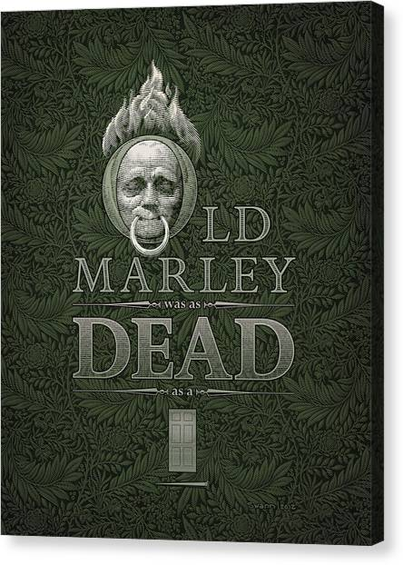 Old Marley Canvas Print