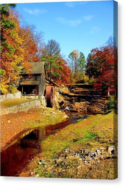 Old Mill Canvas Print by Ralph  Perdomo