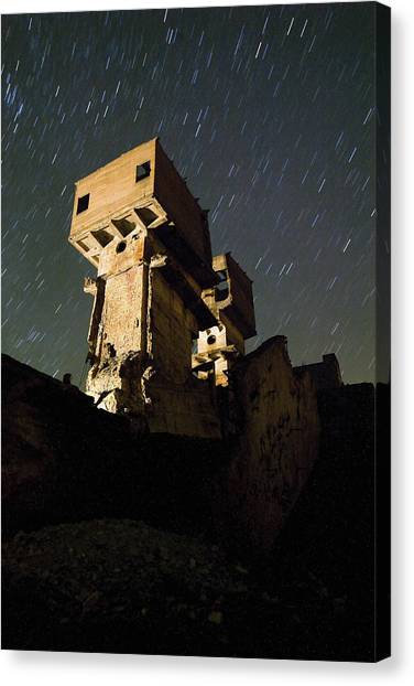 Old Mine Canvas Print by Andre Goncalves